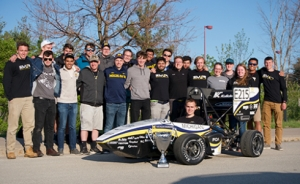 Hutchinson Michigan electrical race students